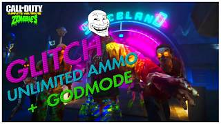 IW ZOMBIES IN SPACELAND (EASY GODMODE GLITCH)