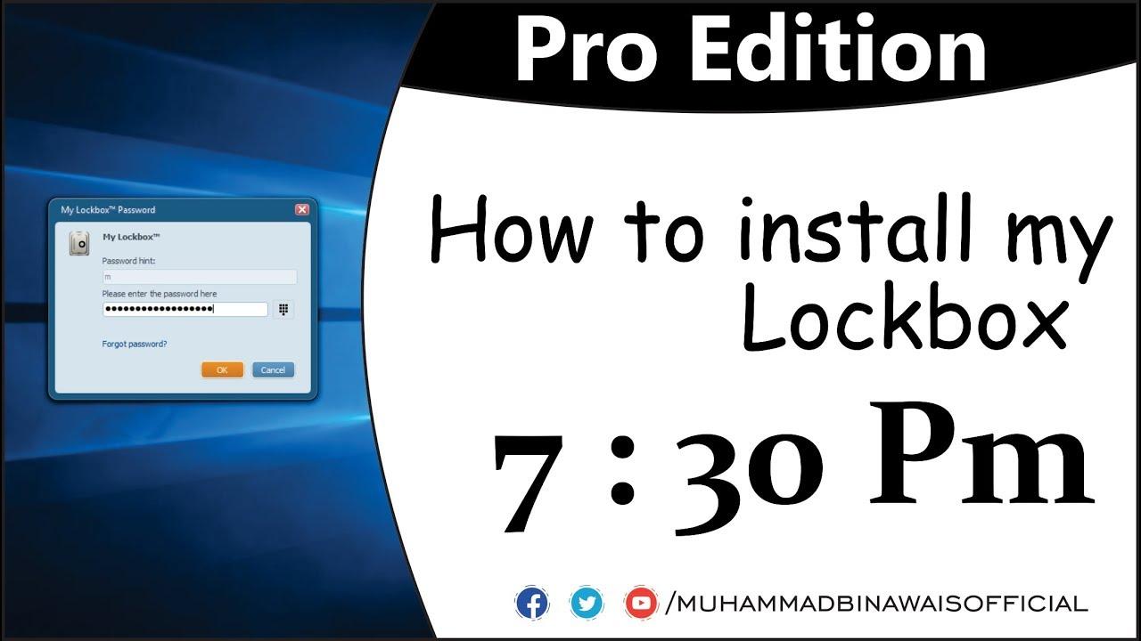 My lockbox download for mac