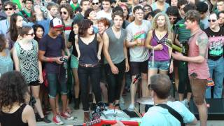 Thee Oh Sees at the Logan Square Monument 7/8