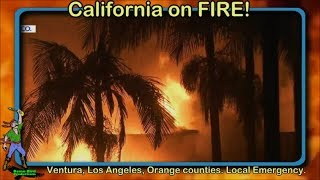 Live - Winds are back! So.Calif. Woolsey fire. 10% Contained.Live Evacuation/road closures.