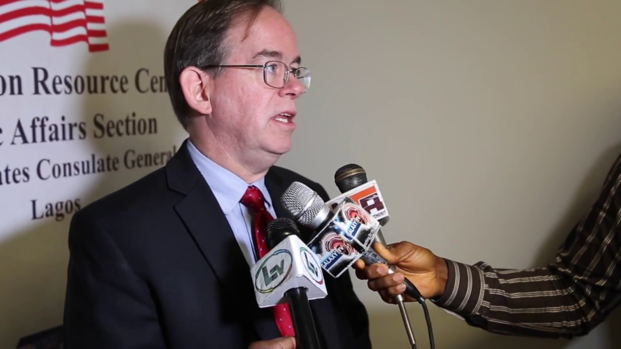 U S  Chargé d' Affaires David Young speaks on ways to fight corruption in  Nigeria