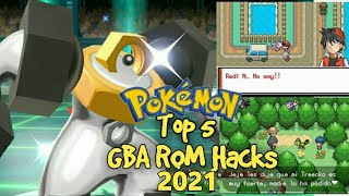 Top 5 Completed Pokemon GBA Rom Hacks 2019!