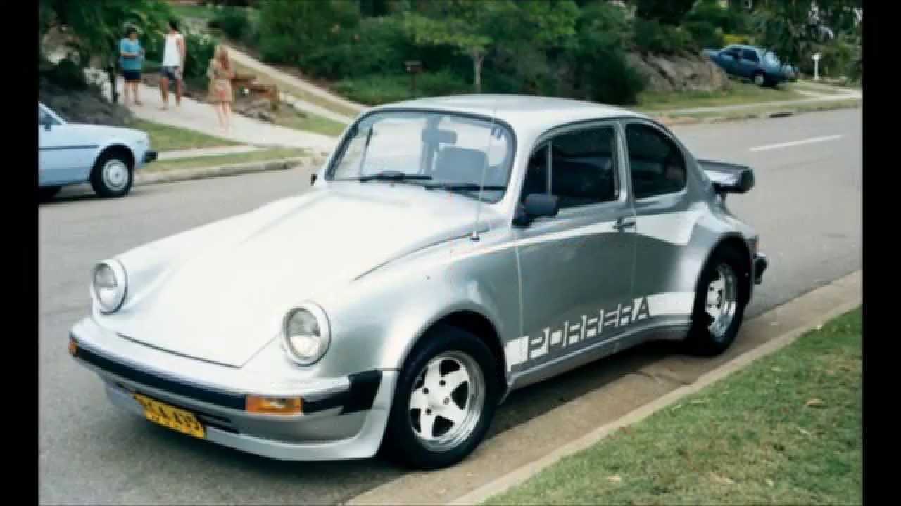 Vw Bug Transformed Porerra Poraga Porsche Kit Car From