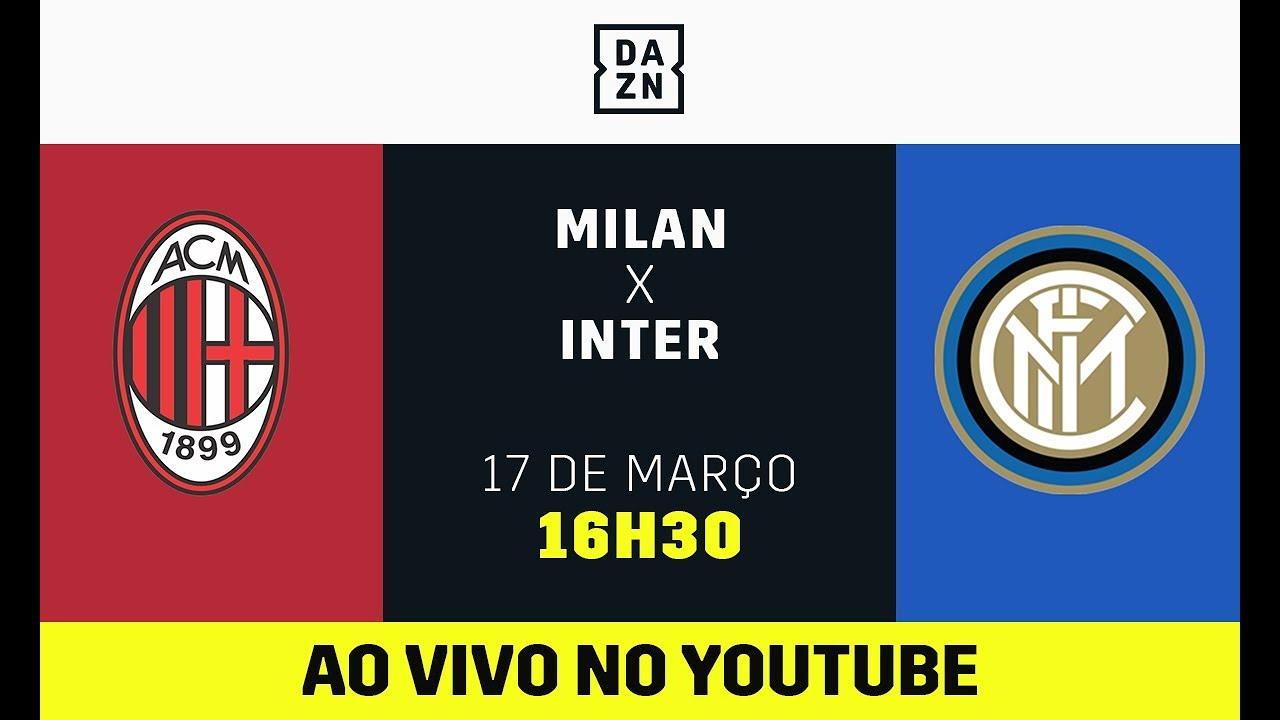 Milan x Inter AO VIVO e DE GRAÇA!