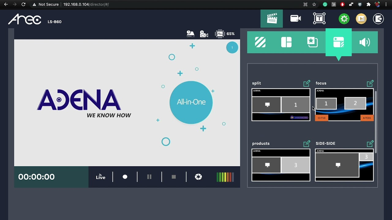 ADENA Hack: How to edit layouts from within the Online Director