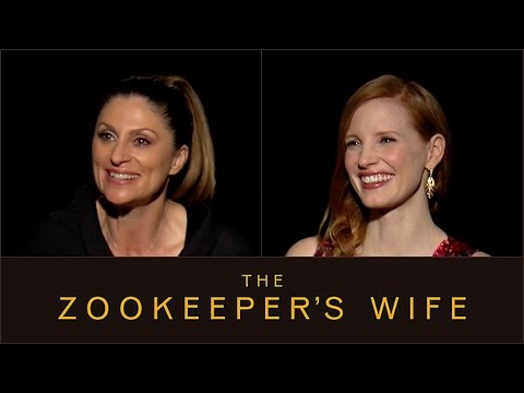 Sit Down With the Stars: The Zookeeper's Wife – Regal Cinemas [HD]