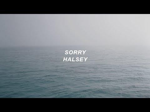 sorry // halsey (lyrics)