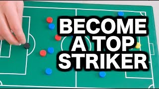 How to play striker in soccer | 3 tips for strikers in football