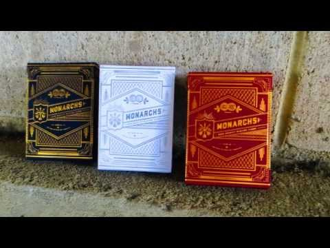 Monarchs - Blue, Silver And Red - Theory 11 Deck Review