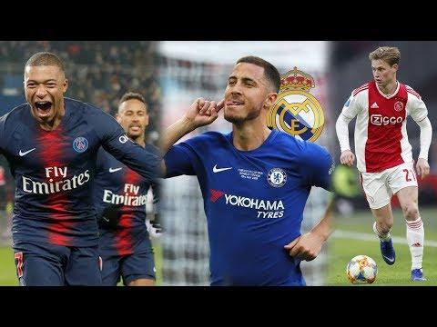 PSG GOLEA 9 – 0 | MADRID AVANZA EN EL FICHAJE DE HAZARD | BARÇA PRESIONA A DE JONG thumbnail