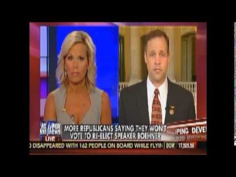 Congressman Jim Bridenstine on The Real Story explains his reason to not vote for Rep. Boehner