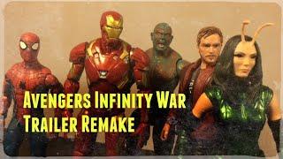 Avengers: Infinity War D23 Trailer (Stop Motion Remake)