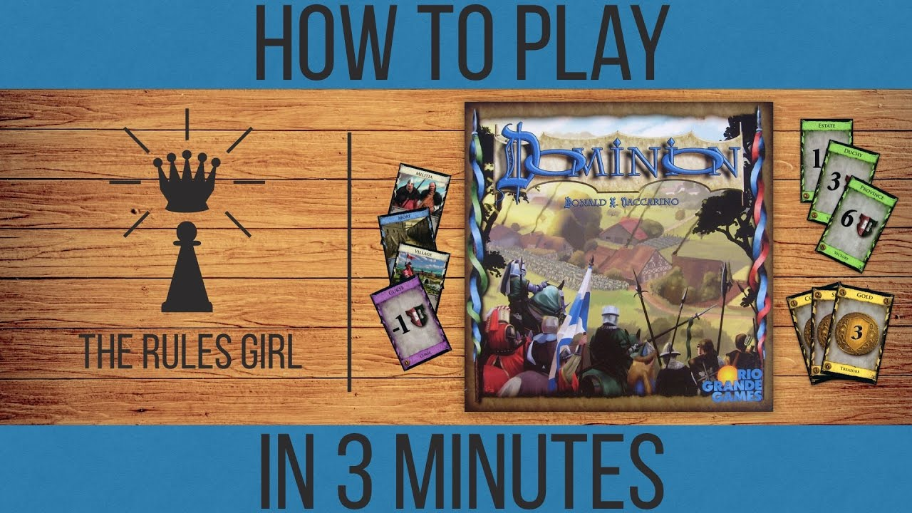 learn how to play dominion