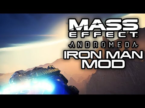 MASS EFFECT ANDROMEDA: Iron Man Mod Let's You Fly Around Andromeda! (Mass Effect Andromeda Mods)