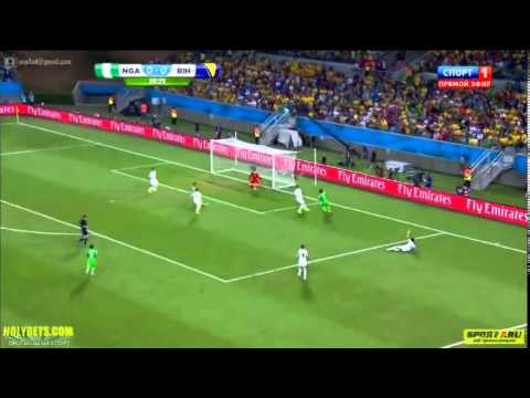 Nigeria 1   0 Bosnia Herzegovina  2014 FIFA World Cup Highlight