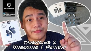 SoundPEATS Truengine2 Unboxing & Review   Cheapest Earphone with Dual Drivers
