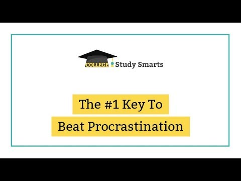 The #1 Key To Beat Procrastination