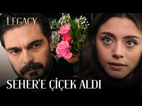 Yaman Seher'e Çiçek Aldı | Legacy 99. Bölüm (English & Spanish subs)
