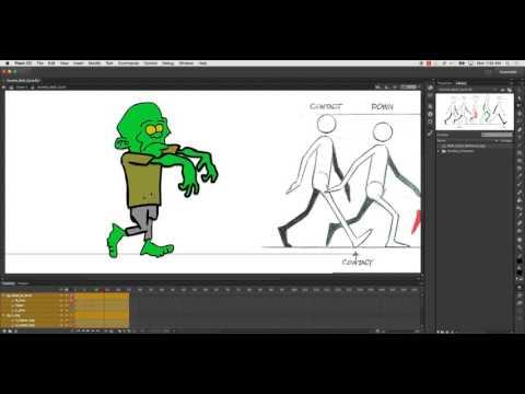 Walking stick man stick figure walking image.