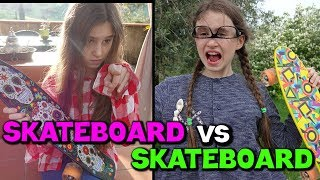 SKATEBOARD vs SKATEBOARD - GARA DIVERTENTE -by Charlotte M.