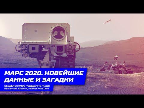 Марс 2020. Новейшие данные и загадки. Необъяснимое поведение газов, пыльные башни, новые миссии.