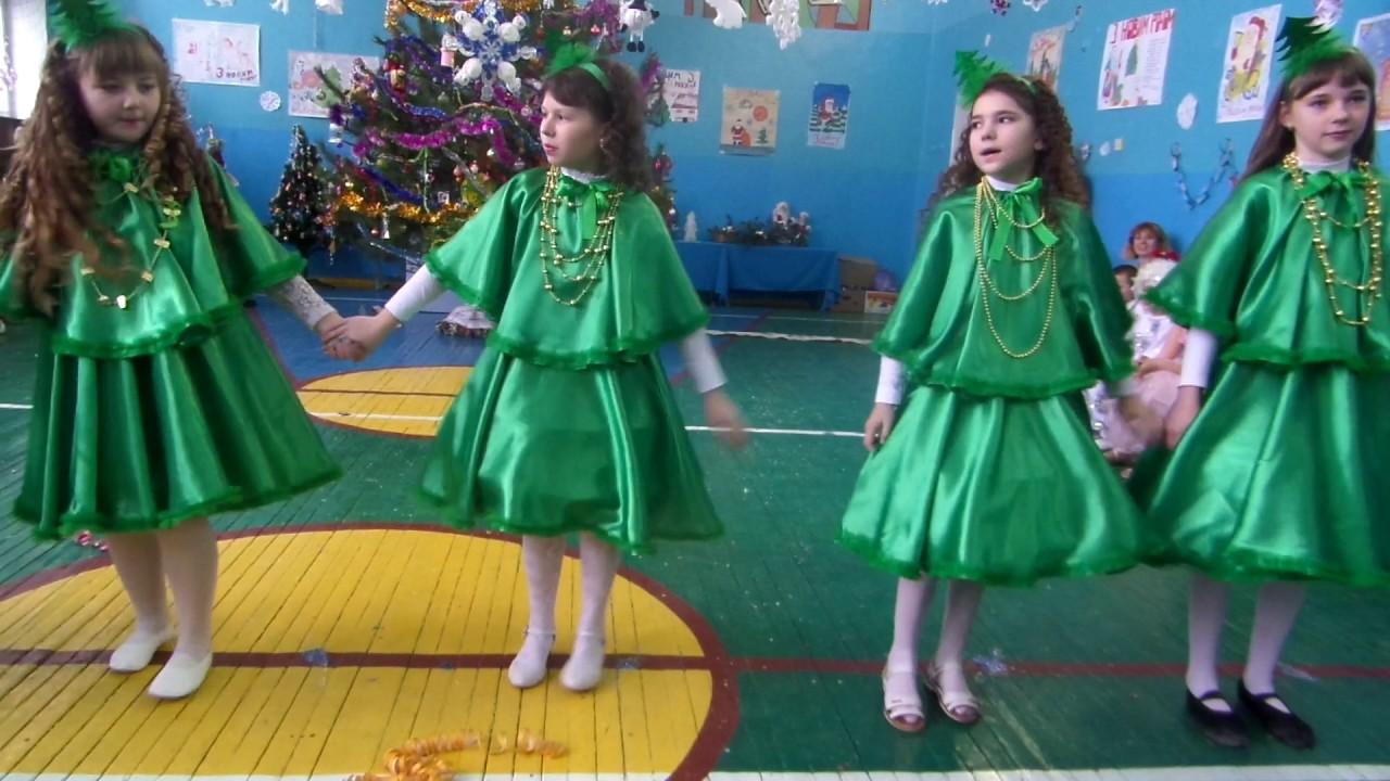 Новорічний танець ялинок (5 клас) - YouTube ba36245500ed7