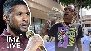 Usher, Rich the Kid and Entourage Members Involved in Studio Armed Robbery | TMZ Live
