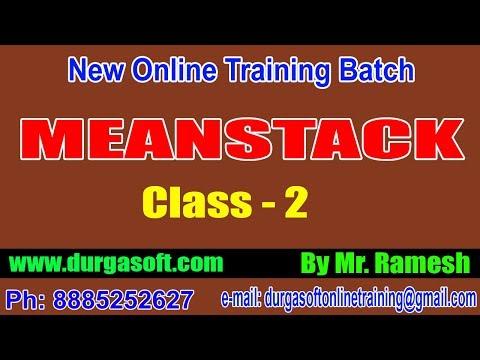 Meanstack Class & Angular 8 Basics || by Ramesh Sir thumbnail