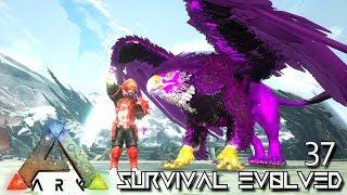 ARK: SURVIVAL EVOLVED - INFERNAL GRIFFIN EVOLUTION & TEK BASE | ARK EXTINCTION ETERNAL E37