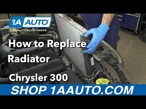 How to Replace Radiator 05-10 Chrysler 300
