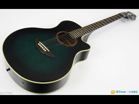 Violao yamaha apx 5a a o by dinight youtube for Yamaha apx series