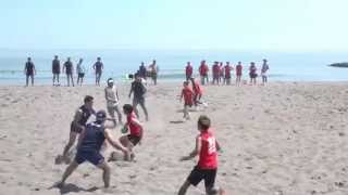 2015 Beach Rugby Japan Tour Round 06 老若男女 VS ヤクルト レビンズB