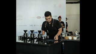 Muhammad Fakhri - Final Indonesia Brewers Cup At Indonesia Coffee Events 2019 - Winner Of IBrC 2019