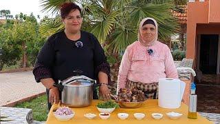لالة حادة مع مشاركة في برنامج ماستر شيف بمنزل ابنتها