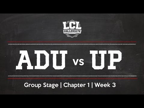 LCL 2016 Spring Term - W3 - ADU vs UP