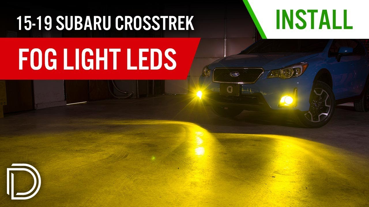 Fog Light LEDs for 2016-2019 Subaru Crosstrek Non-Premium (pair)