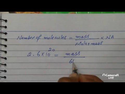 chemistry Fsc part 1 chapter 1 Numericals Lecture 1