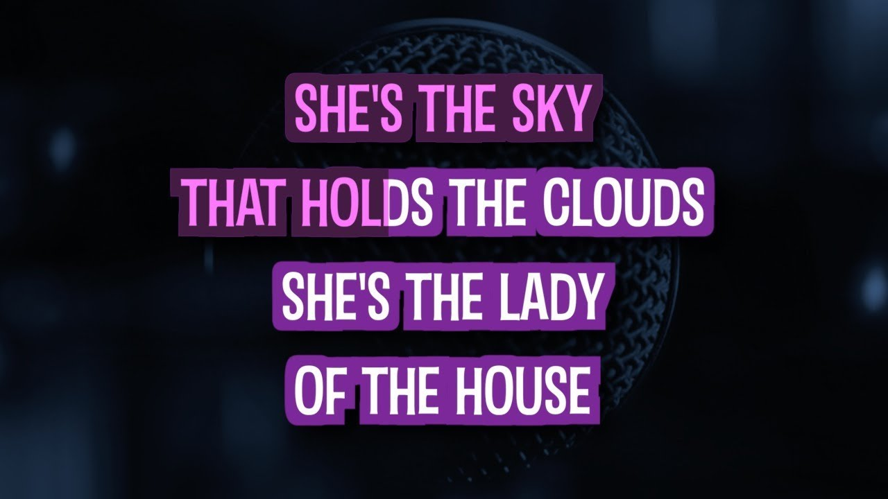 Mother Like Mine (Karaoke) - The Band Perry