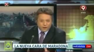 El increíble cambio de Maradona 2015