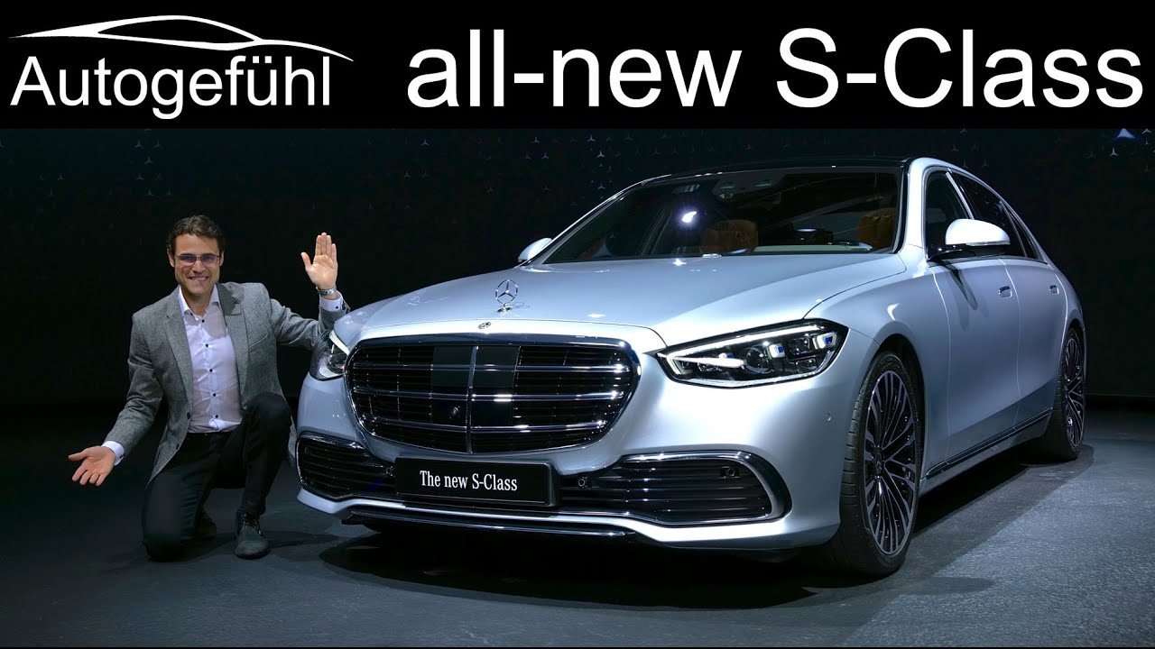 all-new Mercedes S-Class PREMIERE Exterior Interior review ...