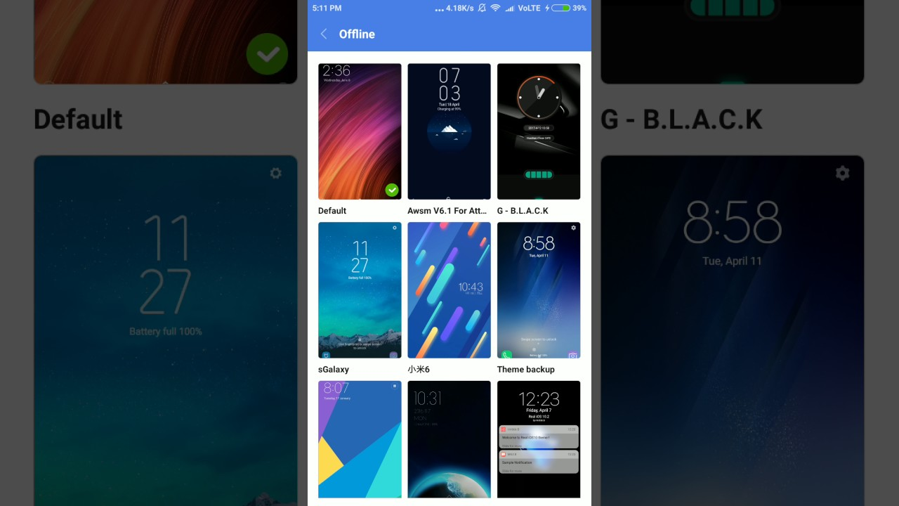 Samsung Galaxy S8 New theme how to download
