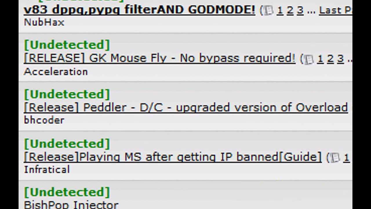 Get your Undetected Maplestory v83 Hacks NOW!