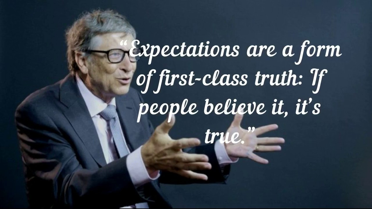 Inspiring Bill Gates Quotes On Success And Life