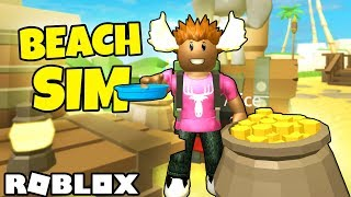HOW TO GO ON THE BEACH! -Danish Roblox: Beach Simulator #1