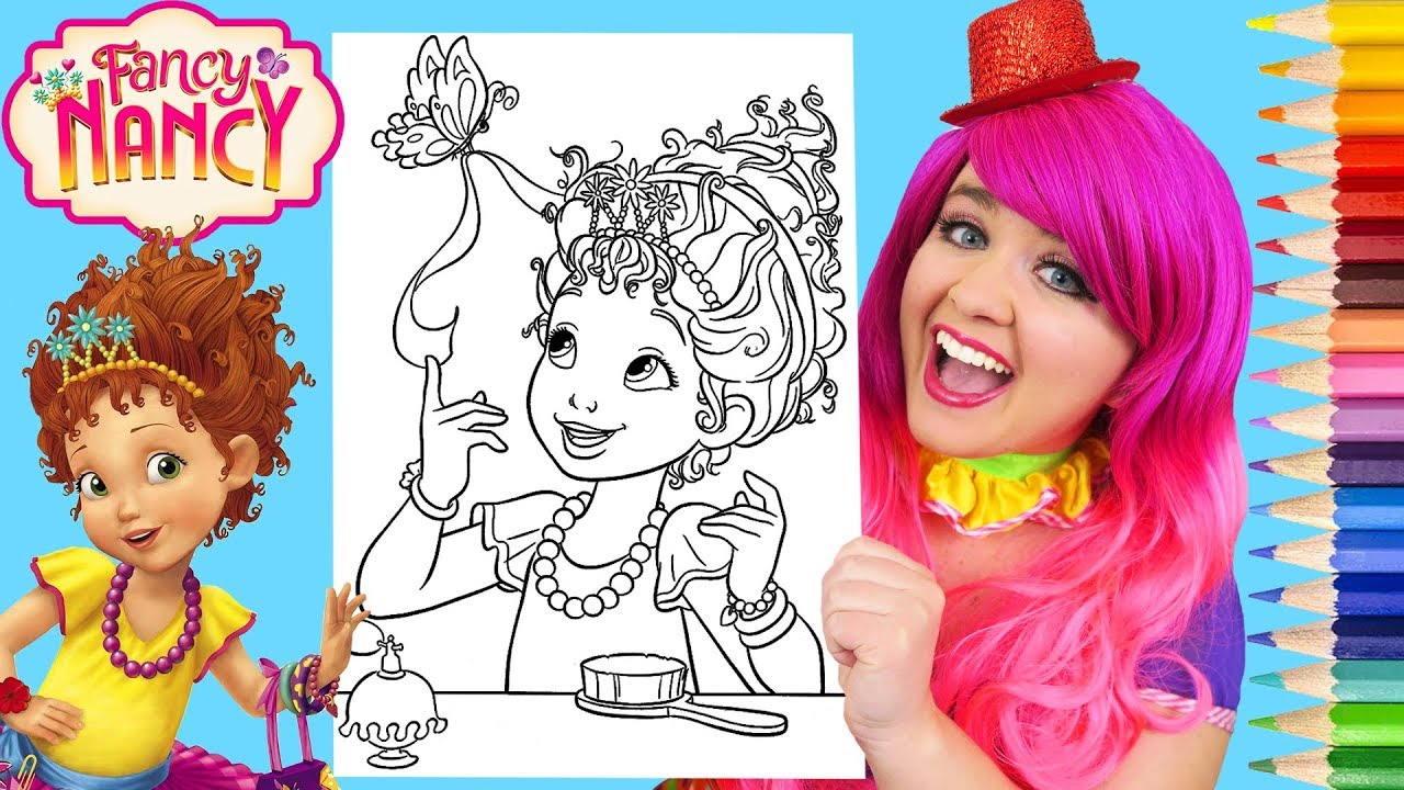 Coloring: Fancy Nancy Coloring Book. Fancy Nancy Coloring Book ... | 720x1280