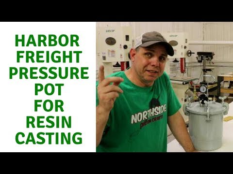 Converting a Harbor Freight Pressure Pot for Resin Casting