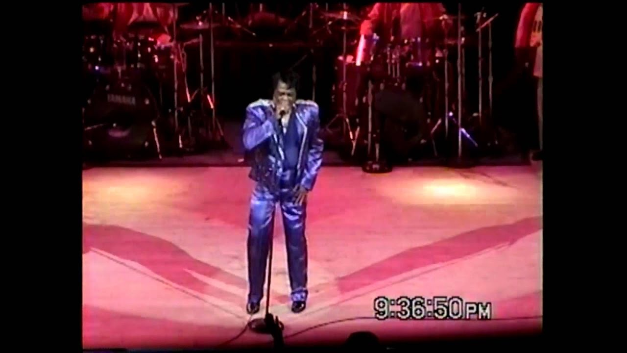 James Brown - Medley live at Star Plaza Theatre - YouTube