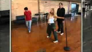Репетиция Классный мюзикл 2 Трой и Шарпей