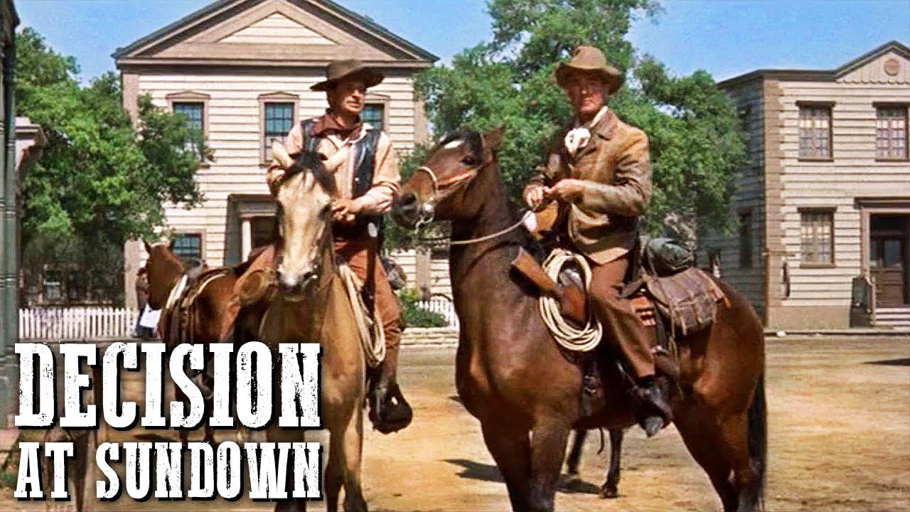 Decision at Sundown | Classic WESTERN MOVIE | Full Length | Free Cowboy Movie | Free Film | English