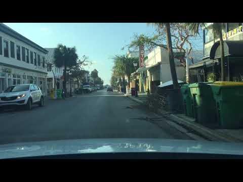 Duval Street, Key West, FL after Hurricane IRMA - September 19, 2017, 6.00pm